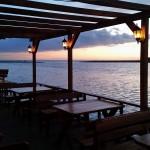 Ada Bojana pogled iz restorana