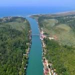 Ušće Ade Bojane u Jadransko more