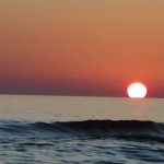 Ada Bojana zalazak Sunca